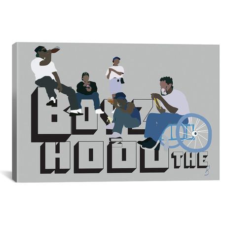 "Boyz N The Hood // GNODpop (26""W x 18""H x 0.75""D)"