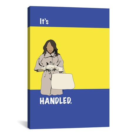 """Scandal // It's Handled (18""""W x 26""""H x 0.75""""D)"""