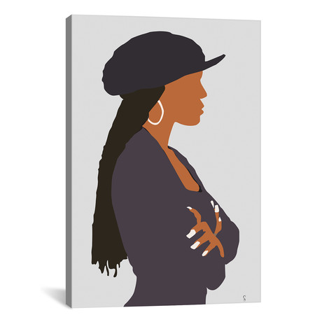 """Poetic Justice Janet (18""""W x 26""""H x 0.75""""D)"""