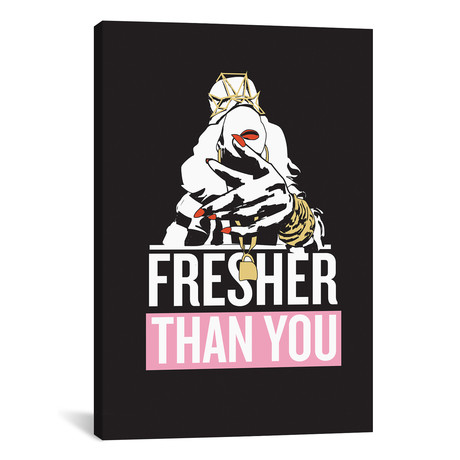 """Yonce // Fresher Than You (18""""W x 26""""H x 0.75""""D)"""