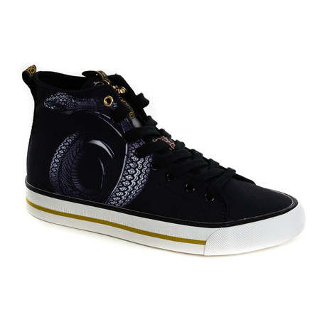 High Top Sneaker // Black (Euro: 40)