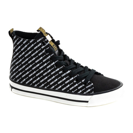 High Top Sneaker Logo // Black (Euro: 40)