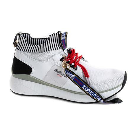 Sock Sneaker // White (Euro: 40)