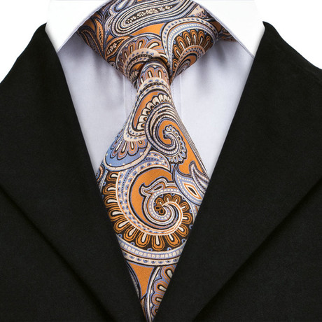 Fluront Handmade Tie // Orange