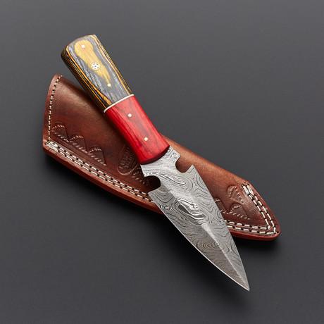 Damascus Dagger Skinner // SK-501