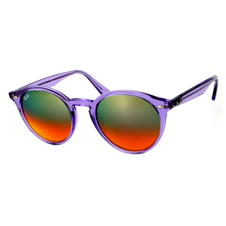 Ray-Ban // Injected Sunglasses // Violet + Brown-Red Gradient
