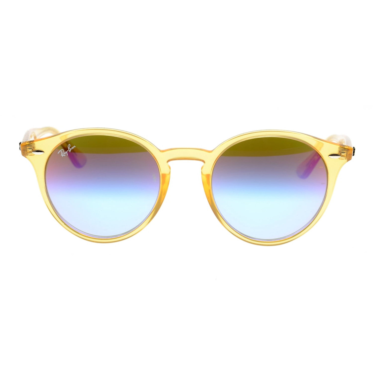 0d9ae1f4f5 Injected Sunglasses    Yellow + Green Blue Gradient Violet - Luxury ...