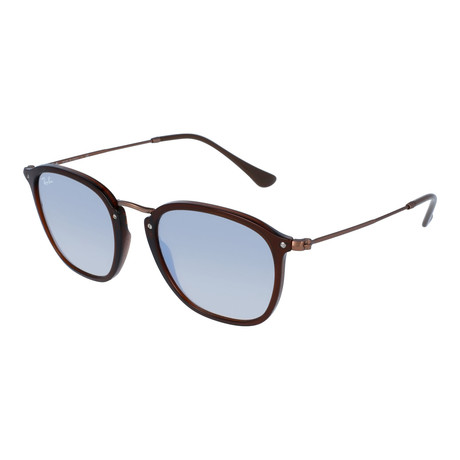 Ray-Ban // Injected Sunglasses // Transparent Brown + Gray Gradient