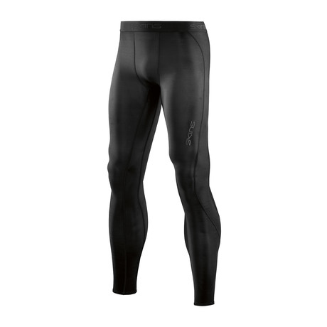 CORE Compression Long Tights // Black + Black (Small)