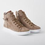 Bloke Hi Lace-Up Sneaker // Mushroom Suede (US: 11)