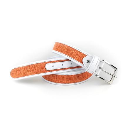 """California Golf Belt // Orange (28"""")"""