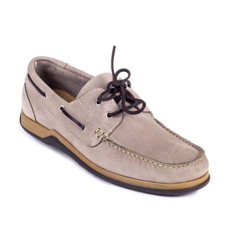 Nicon Boat Shoe // Beige (Euro: 39)