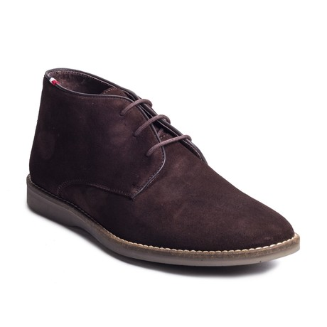 Scada Suede Boot // Brown (Euro: 39)