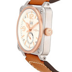 Bell & Ross Aviation Instruments Power Reserve Automatic // BR-03-90-STEEL-ROSE-GOLD