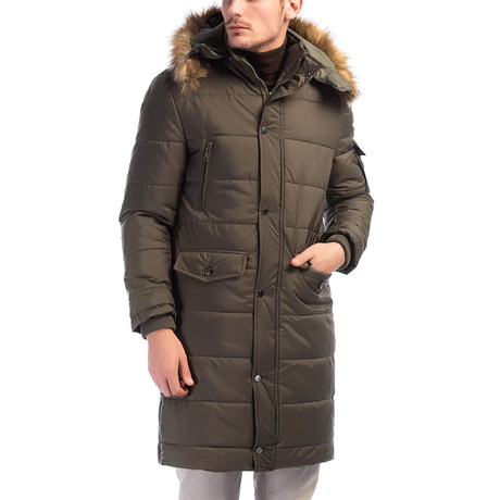 Helsinki Overcoat // Green (Small)