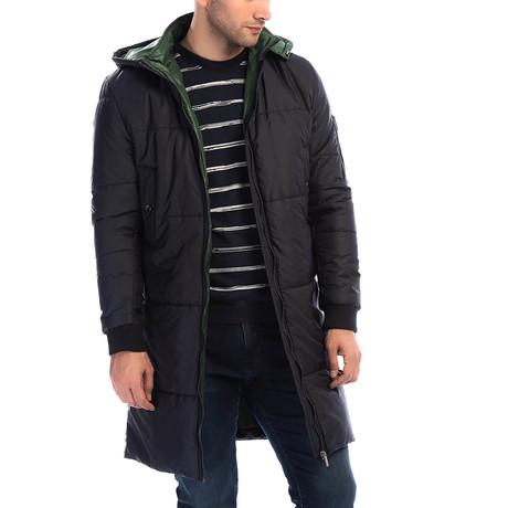 PLT8637 Overcoat // Dark Blue (L)