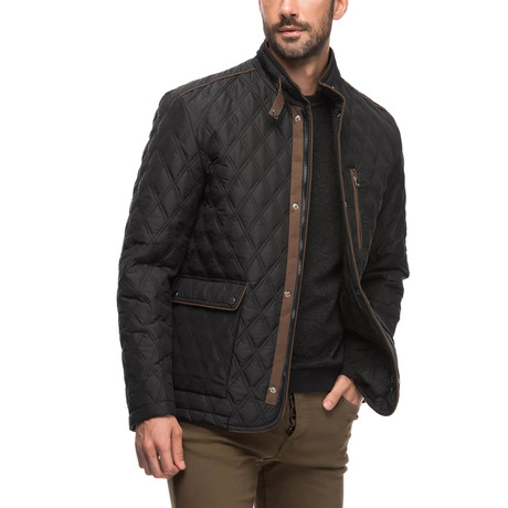 K8613 Coat // Black (Small)