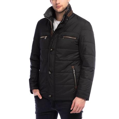 K8639 Coat // Black (3XL)