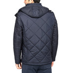 Trout Coat // Dark Blue (X-Large)