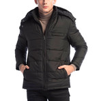 Jones Coat // Black (Medium)
