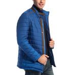 Ivan Slim Fit Coat // Sax (Small)