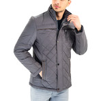 Carl Coat // Anthracite (Small)