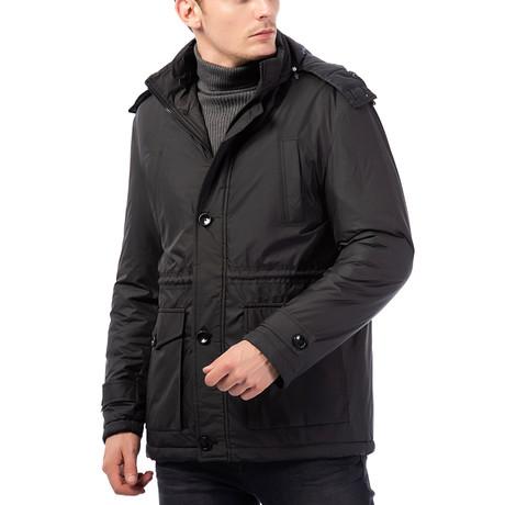 M8624 Coat // Black (2XL)