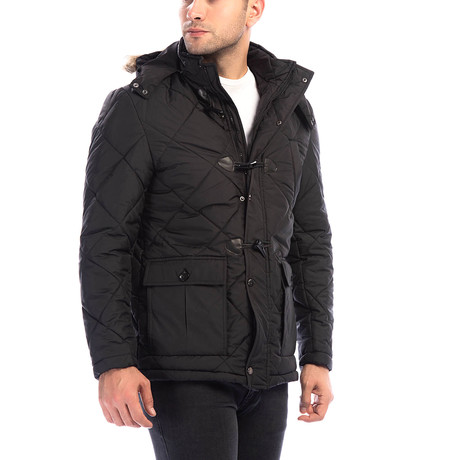 M8634 Coat // Black (Small)