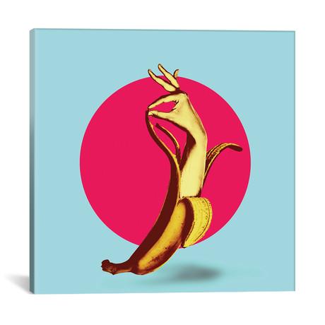 """El Banana // Ali Gulec (18""""W x 18""""H x 0.75""""D)"""