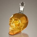 Skull Head 3D // Spirit Glass Decanter