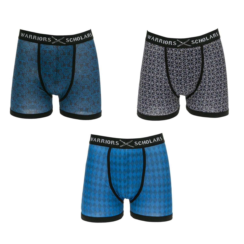 e1006462ffa Saisson Moisture Wicking Boxer Briefs // Blue + Black + Light Blue // Pack