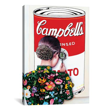 "Warhol's Art Lover // Liva Pakalne Fanelli (18""W x 26""H x 0.75""D)"