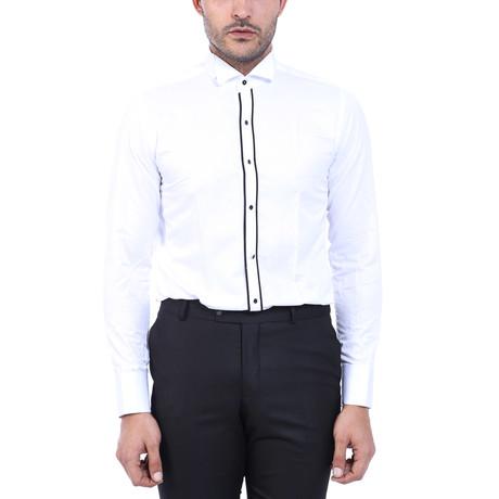 Earl Tuxedo Shirt // White (S)