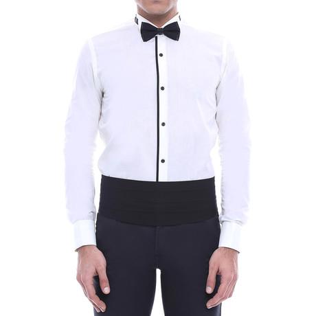 Jerrell Tuxedo Shirt // White (S)