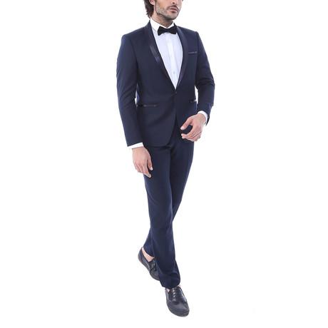 Jonathan Slim Fit 2-Piece Tuxedo // Navy (Euro: 44)