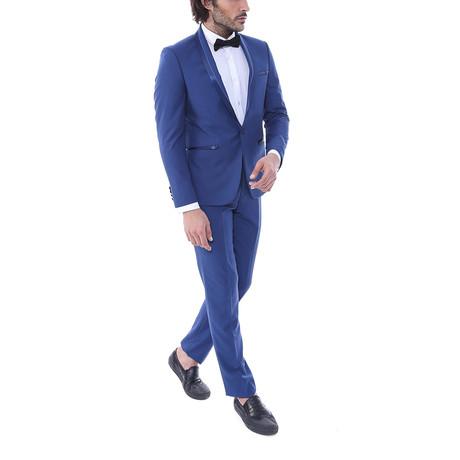 Samuel Slim Fit 2-Piece Tuxedo // Navy (Euro: 44)