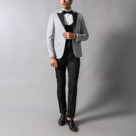 Tyler Slim-Fit 3-Piece Tuxedo // Gray (Euro: 44)