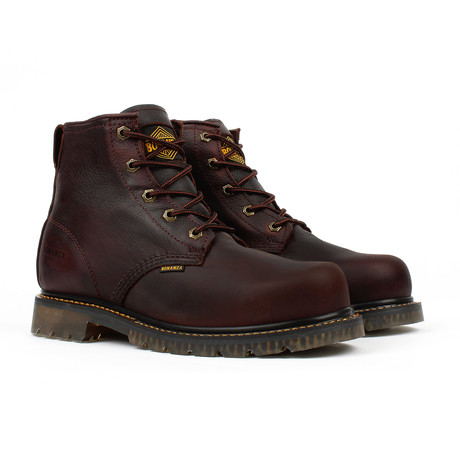 Slip Resistant Work Boots // Brown (US: 5)