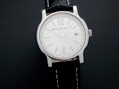 Amazing Watches Astounding Timepieces Bulgari Date Quartz // SA35 // Pre-Owned