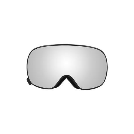 K2 Magnetic Snow // Black Frame + Silver Lens