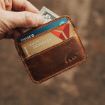 Kenai Minimalist Wallet // Dark Walnut
