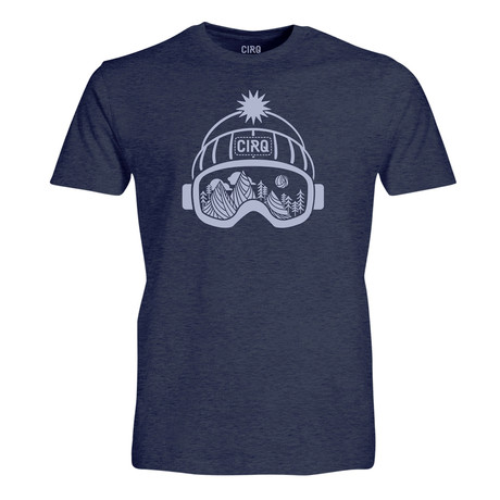 Powder Chaser T-Shirt // Navy Heather (S)