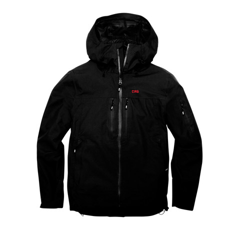 Santiam 3-Layer Jacket // Anthracite (S)