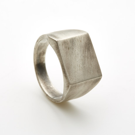 Solid Ring // Brushed (6)
