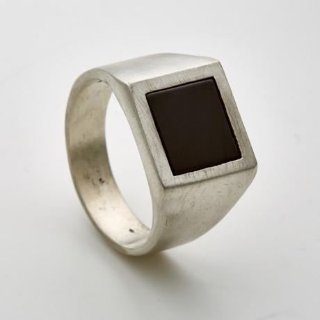 Square Onyx Signet Ring (6)