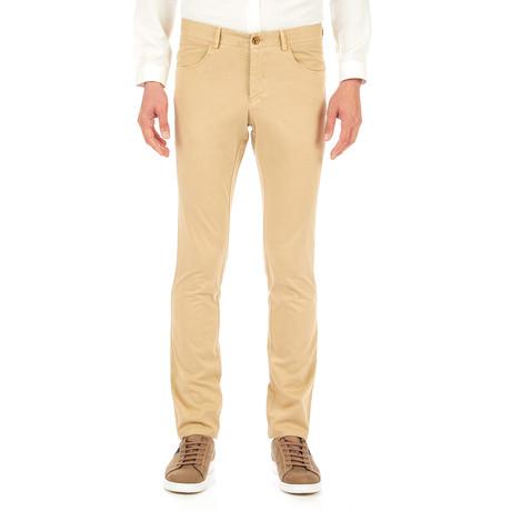 Aydan 5-Pocket Trousers // Beige (Euro: 46)