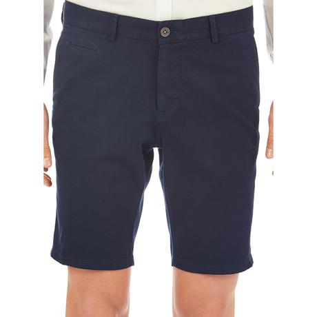 Albert Patterned Shorts // Dark Blue (Euro: 46)