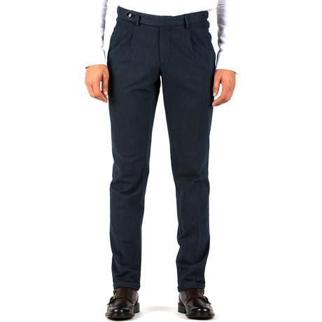 Matthew Belted Trousers // Dark Blue (Euro: 46)