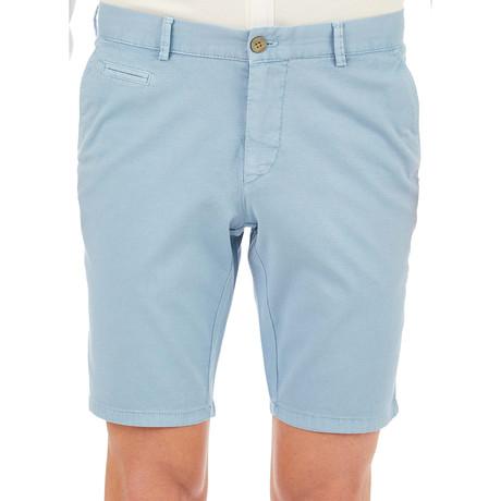 Brice Patterned Shorts // Blue (Euro: 46)