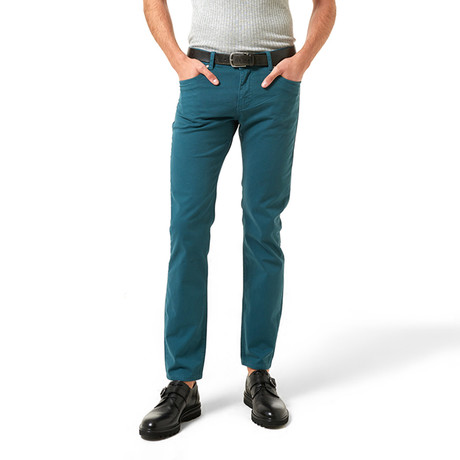 Sam Pants // Petrol Blue (30WX32L)